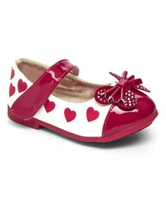 Look at this Fuchsia Happy Mary Jane on #zulily today!