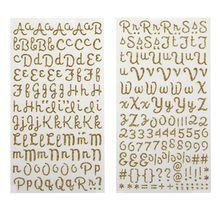 Recollections™ Glitter Alphabet Stickers, Script