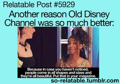 """Reason eleventy billion one that I feel old: Raven is considered """"old Disney channel"""". That is """"new Disney channel"""", and the BS that's on it now is """"currently super shitty Disney channel""""."""