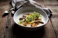Dungeness Crab Shrimp and Grits // Chocolate + Marrow Blog