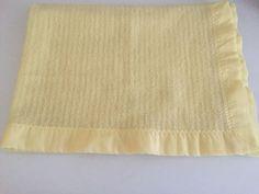 Bright Future Baby Morgan? yellow waffle weave thermal baby blanket security #BrightFuture #BabyMorgan #Bestbabyblanket