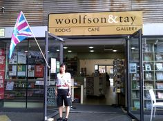 Woolfson & Tay flies the London 2012 flag - welcome to London!