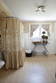 love the lush shower curtain..maybe as curtains in guest room.