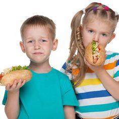 Los alimentos más indigestos para niños.
