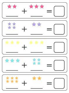 Spring Math Centers for Kindergarten Lkg Worksheets, Math Addition Worksheets, Printable Preschool Worksheets, Free Kindergarten Worksheets, Preschool Learning Activities, Preschool Math, 5 Year Old Activities, Free Printable, English Activities For Kids