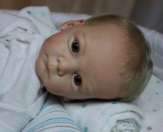 Reborn Doll ~ Baby Boy Mathis ~ LE by Gudrun Legler ~ Lauschaer Glass Eyes