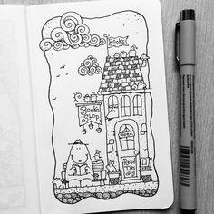Dave Garbot — World Book Day! #illustration #drawing #penandink...