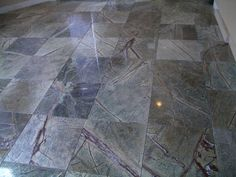 Rainforest Green Marble by Tile Art