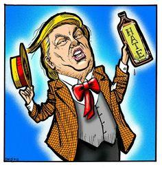 Trump Sells Hate