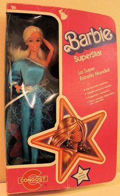 Superstar Barbie Congost Spain 1981