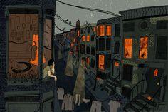 Любопытные иллюстрации молодой художницы из Бруклина. (6 фото)