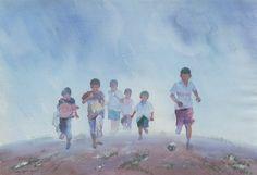 Myoe Win Aung   WATERCOLOR