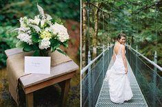 A sweet token from the groom on the #wedding day: www.islandwood.org/weddings