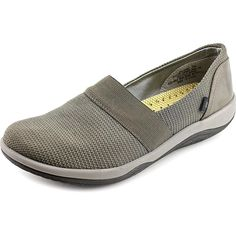 Baretraps Julanne Women Round Toe Canvas Gray Loafer (US Size 6.5 Only)
