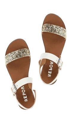 Love these sparkle sandals on sale for $39.99