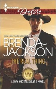 ARC Review – The Real Thing (The Westmorelands #28) by Brenda Jackson
