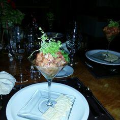 Ceviche mixto fusión del Chef Marcos Larenas