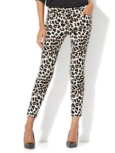 adf10358b70706 Shop The Audrey Ankle Pant - Leopard Print. Find your perfect size online  at the best price at New York & Company.