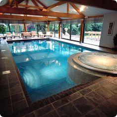 indoor pools | Indoor Swimming Pool Designs | Home Designing