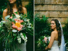 Giant Peony Wedding Bouquet #unique
