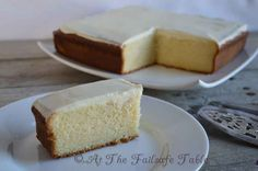 At The Failsafe Table - Vanilla Butter Cake