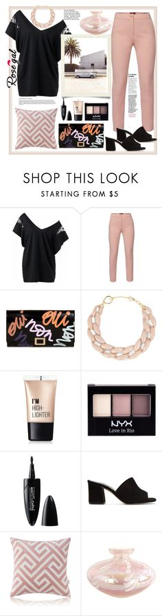 """""""Rosegal. Panel Top"""" by natalyapril1976 on Polyvore featuring Mode, WtR, Roger Vivier, DIANA BROUSSARD, Charlotte Russe, NYX, Maybelline und Maryam Nassir Zadeh"""