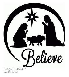christmas clip art black and white for silhouette - Yahoo Search Results Yahoo Image Search Results Christmas Vinyl, Christmas Nativity, Christmas Projects, Christmas Ornaments, Christmas Patterns, Christmas Shirts, Vinyl Ornaments, Glitter Ornaments, Nativity Ornaments