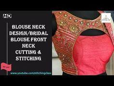 Lengha Blouse Designs, Choli Blouse Design, Blouse Back Neck Designs, Fancy Blouse Designs, Blouse Tutorial, Sleeves Designs For Dresses, Sleeve Designs, Dress Sewing Patterns, Blouse Patterns