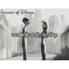 Because of Disney... I love this movie even though its short!!!!