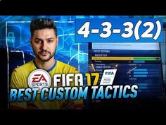 "www.fifa-planet.c... - FIFA 17 4-3-3 TUTORIAL BEST CUSTOM TACTICS & PLAYER INSTRUCTIONS -HOW TO PLAY 4-3-3(2) TIPS & TRICKS FIFA 17 4-3-3 (2) FORMATION REVIEW by MIKE www.youtube.com/... ►Buy cheap & safe coins here www.fifacoin.com/ 15% Discount Code ""Ovvy"" ►Cheap Games & Codes www"