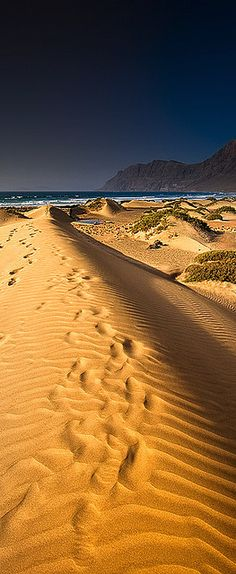 Famara, Lanzarote, Canary Islands, #Spain from Doncaster Sheffield Airport http://www.robinhoodflights.co.uk/destinations/lanzarote