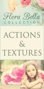 Flora Bella Collection actions and textures