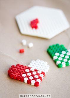 Pärlade julhängen - Pyssel & pysseltips - Make & Create