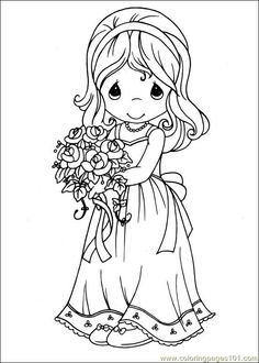 precious moments 28 wedding coloring pagescolouring