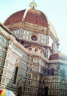 Florence Italy- The Duomo. The stone is beautiful up close.
