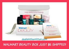 Walmart Beauty and Baby Boxes Just $5 Shipped! - Deals in the Mitten - Michigan Coupon Blog
