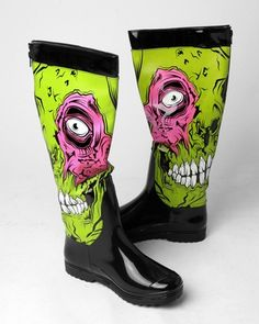 ...and all-weather Zombie Stompers!