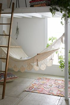 Macrame Hammock for my covered porch :)