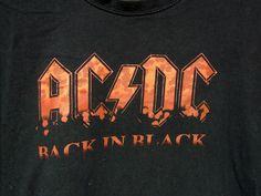 AC//DC Herren Back in Black T-Shirt