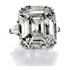 Liz Taylor's 33-Carat Diamond, Van Gogh Top $50 Million Auction found on Polyvore