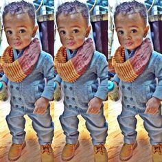 Babies are dope Cute Kids Fashion, Little Boy Fashion, Baby Boy Fashion, Toddler Fashion, Baby Boy Swag, Kid Swag, Beautiful Children, Beautiful Babies, Toddler Boys