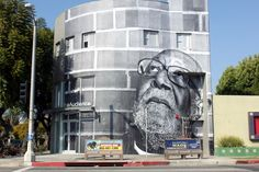 one of the newest installations for 'wrinkles of the city' located on beverly blvd in los angeles.