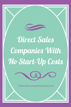It has become somewhat of an annual tradition here at TheBestDirectSalesCompanies.com to create a list of those direct sales companies with no startup cost. Many of those looking to get into this lucrative industry don't have a lot to spend.