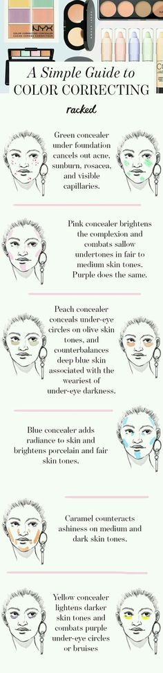 Color correcting makeup tips