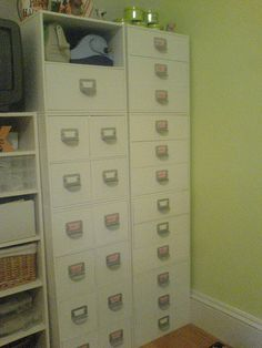 Scrapbook Room - love these cubes!