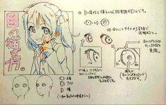 目の描き方00