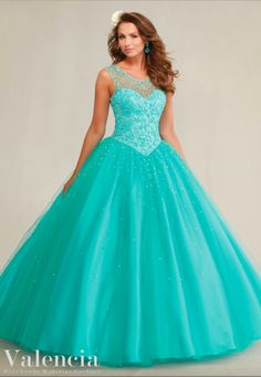 Pretty quinceanera dresses, 15 dresses, and vestidos de quinceanera. We have turquoise quinceanera dresses, pink 15 dresses, and custom quince dresses! Blue Ball Gowns, Tulle Ball Gown, Ball Dresses, Formal Dresses, Short Dresses, Blue Gown, Dresses 2016, Turquoise Quinceanera Dresses, Cheap Quinceanera Dresses