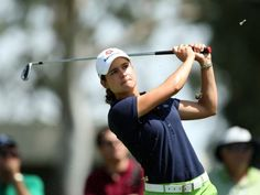Lorena Ochoa (submitted by F) Female Athletes, Female Golfers, Vince Lombardi, Ladies Golf, Latina, Baseball Cards, Celebrities, People, Social