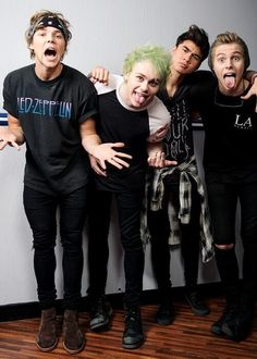 anyone else give it a thought that in every pic they all do something different like one shows teeth one doesnt then one just looks away and one with their tounge and UGH THEM