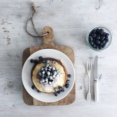 """Good morning Easter! I decided to start this beautiful day with some blueberrypancakes • enjoy your day!! #goodmorning #breakfast"" Photo taken by @______aline on Instagram, pinned via the InstaPin iOS App! http://www.instapinapp.com (04/05/2015)"
